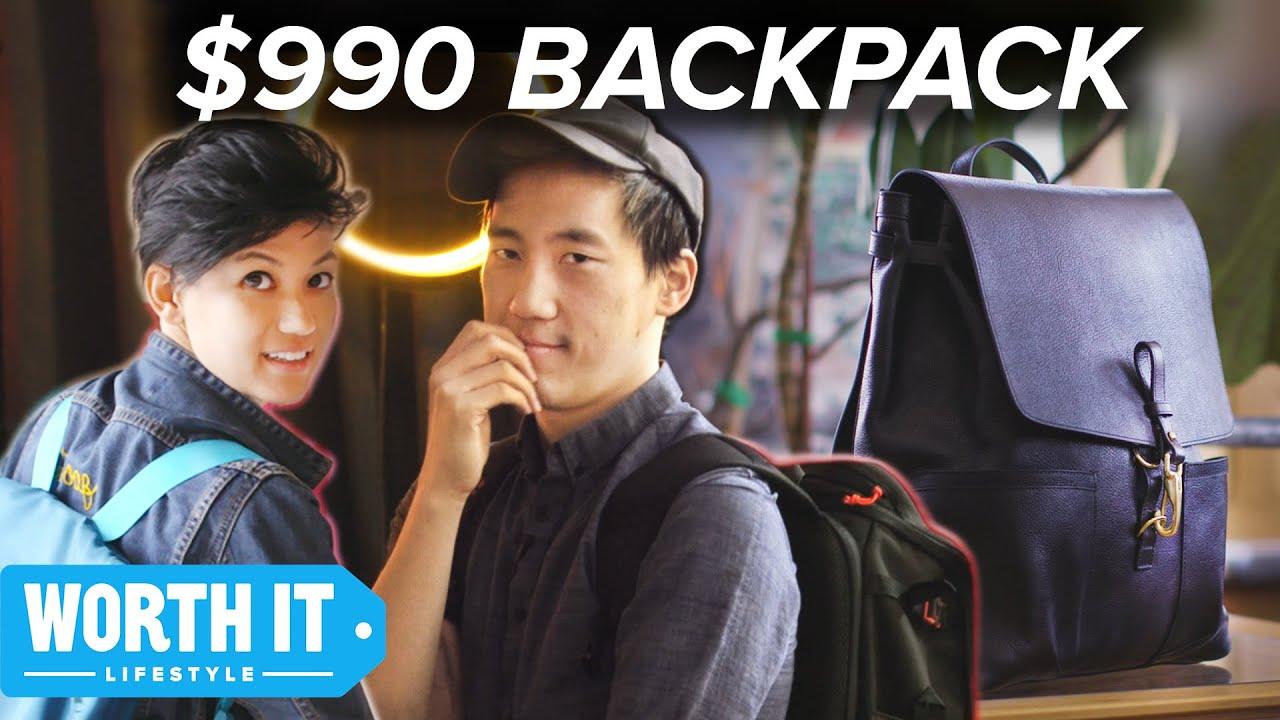 $36 Backpack Vs. $990 Backpack