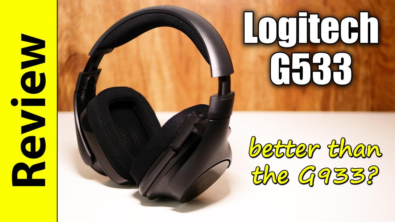 Logitech G533 Review | better than the G933? : LightTube