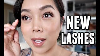 WHAT HUBBY THINKS ABOUT MY NEW LASHES! -  ItsJudysLife Vlogs