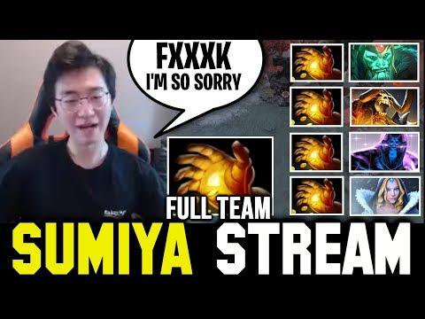 The Disaster Of Full Team Midas   Sumiya Invoker Stream Moment #796