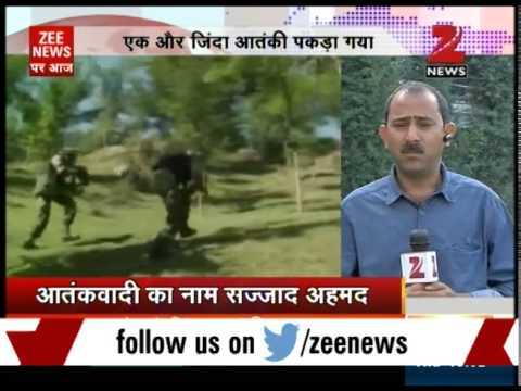 Another Pakistani terrorist Sajjad Ahmed caught alive in Jammu and Kashmir