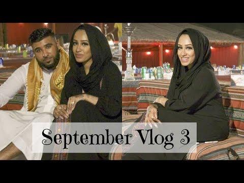 September vlog 3 - One Year Anniversary and Dubai Holiday