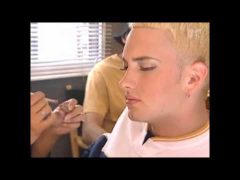 Eminem Getting His Britney Spears On [2000]