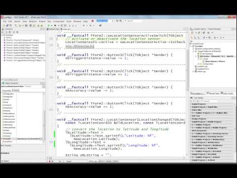 C++ for iOS Location mobile code snippet - YouTube