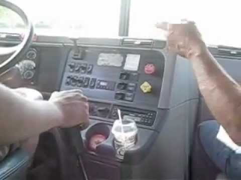 shifting in a 13 speed in a freightliner columbia