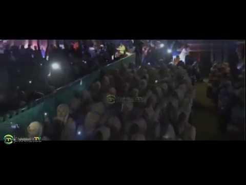 Kemeriahan nyanyian lagu MAN ANA pada acara haflah diPondok Tremas.