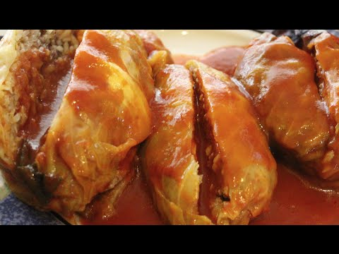 GOLUMPKIES/OUT OF THIS WORLD STUFFED CABBAGE RECIPE/CHERYLS HOME COOKING/EPISODE 348