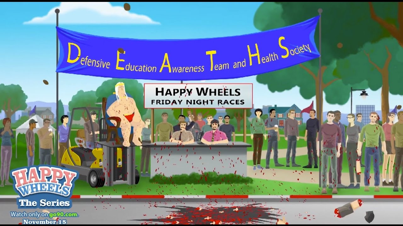 happy wheels official