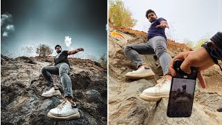 Creative Low Angle Photography Ideas With Phone 🔥 #shorts