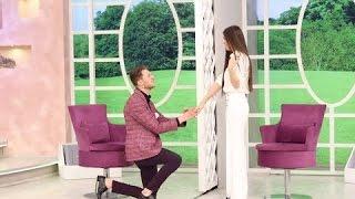 Paravan Açıldı  ilk Görüşte evlenme teklifi etti. .25.12.2016