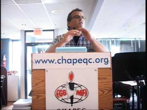 Conférence Denis Thibault chapeqc/fgbmfi