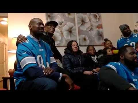 Warrick Dunn Charities, Detroit Lions & Sponsors Help Single Mom