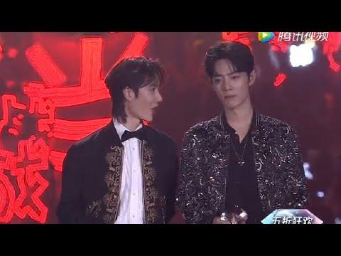 【肖战XiaoZhan/王一博WangYibo】Tencent Starlight Awards VIP Stars cut~在舞台上也忍不住要讲话的xql