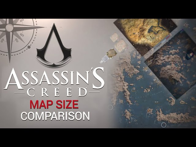 Assassin S Creed All Maps Size Comparison Ac3 Ac4 Ac Odyssey