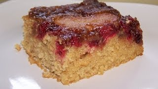 Gluten Free Cranberry Apple Upside Down Cake
