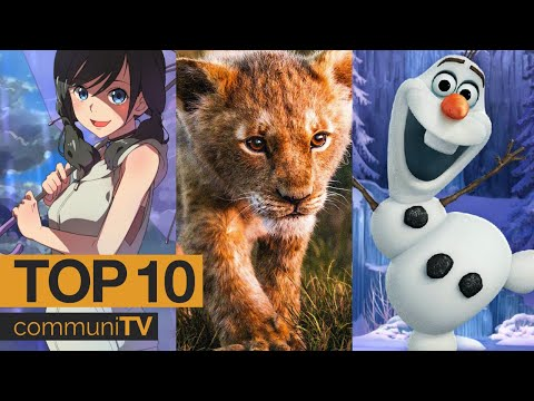 Top 10 Animated Movies Of 2019