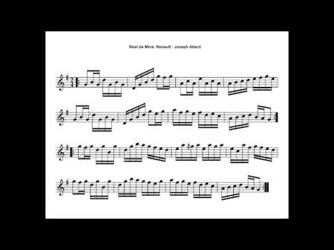Folklore Québécois - ♫ Joseph Allard - Reel de Mme Renault ♫