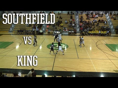 Basketball: Southfield Bluejays vs Detroit King Crusaders