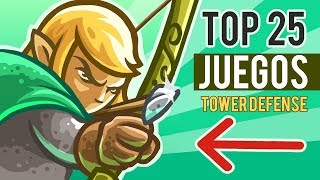 TOP 25 JUEGOS PARA ANDROID & IOS DE DEFENSA DE LA TORRE 🏰 TOWER DEFENSE 🏹 TD 👉 APPLOIDE 📱