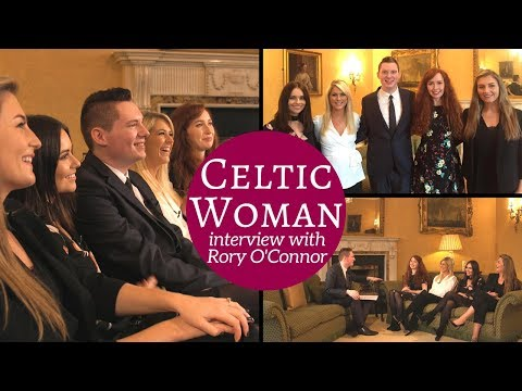 Celtic Woman interview with Rory OConnor at the Irish Embassy in London  @CelticWoman