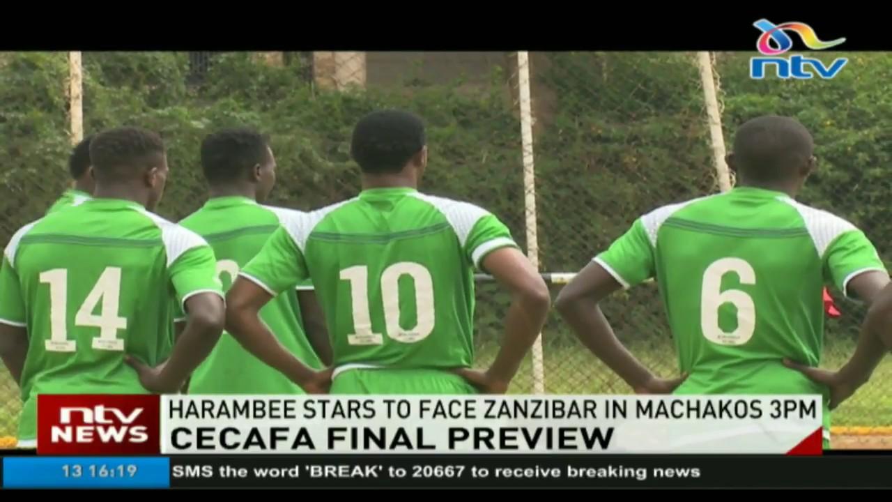 Harambee Stars to face Zanzibar in CECAFA final