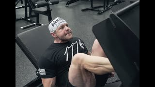 Leg Training - BEYOND FAILURE LEG PRESS - 26 Weeks Out from Master's USA