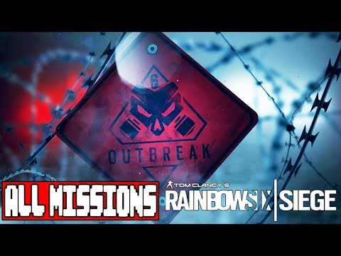 Rainbow 6 Siege Operation Chimera OUTBREAK ALL MISSIONS – No Commentary