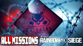Rainbow 6 Siege Operation Chimera OUTBREAK ALL MISSIONS - No Commentary