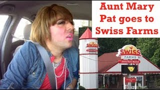 Aunt Mary Pat talks Delco on the way to Swiss Farms
