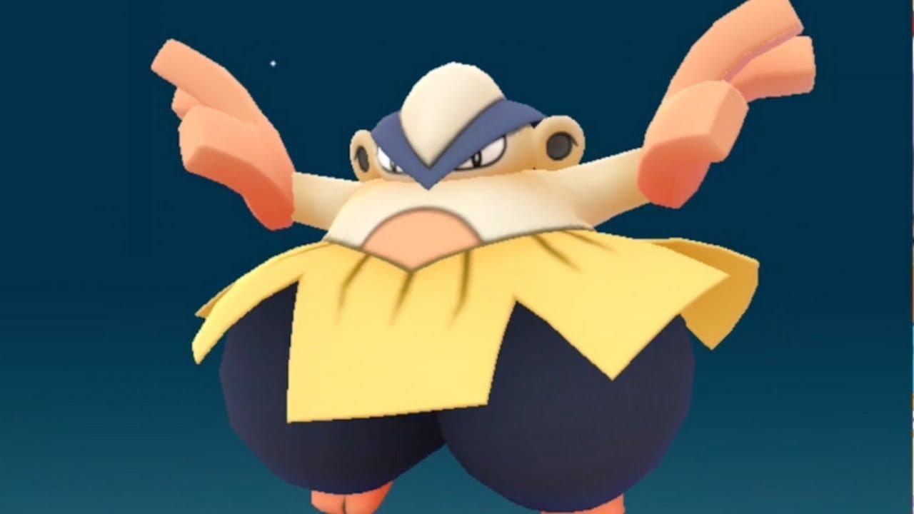 New Gen 3 Pokemon Go Makuhita to Hariyama Evolution ...