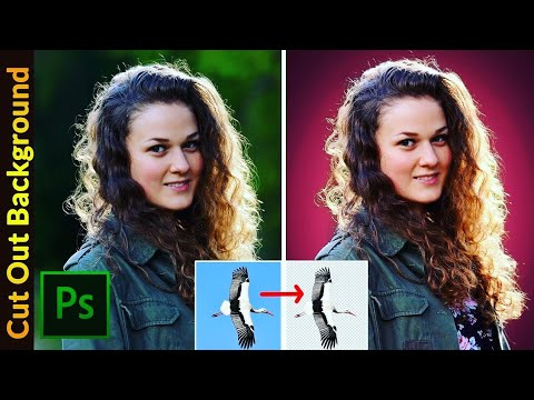 How To Change Image Background In Photoshop | Remove Photo BG In Photoshop | HINDI