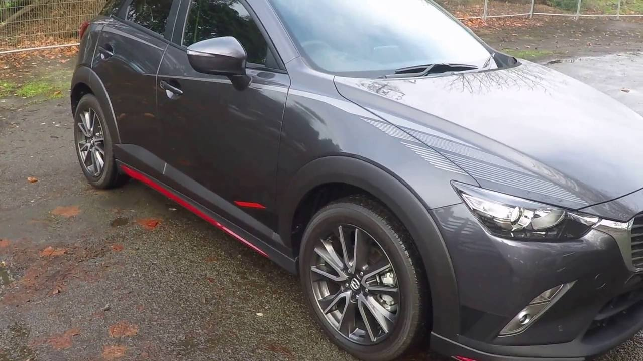 Mazda Cx 3 Gsx Fwd With Mazdasd Bodykit And Decals