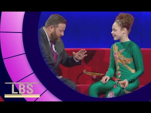 Meet Bella the contortionist flaming foot archer | Little Big Shots Aus Season 2 Episode 2