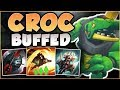 WTF! RIOT FINALLY BUFFED UP THE CROCODILE?? BUFFED RENEKTON SEASON 8 TOP GAMEPLAY! League of Legends