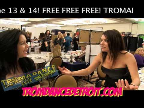 Debbie Rochon & Tiffany Shepis talk TromaDance Detroit!