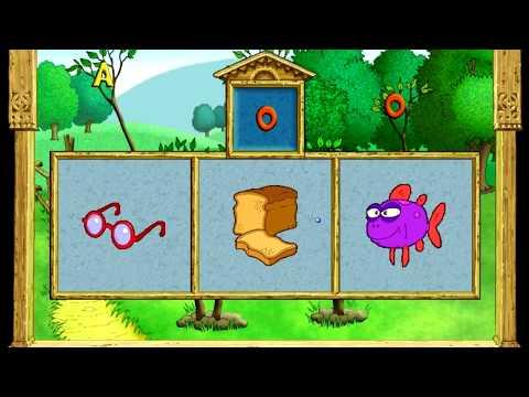 Обучение буквам Как звучат буквы Онлайн игра