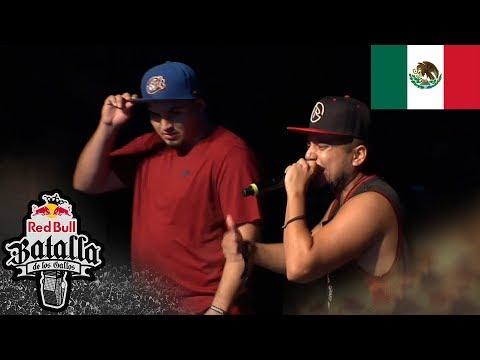GINO vs RAPDER - Octavos: Final Nacional México 2017 - Red Bull Batalla de los Gallos