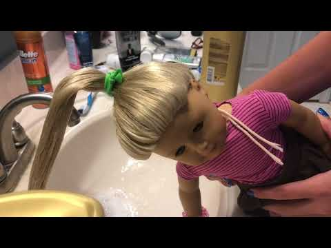 How To Wash American Girl Doll Hair