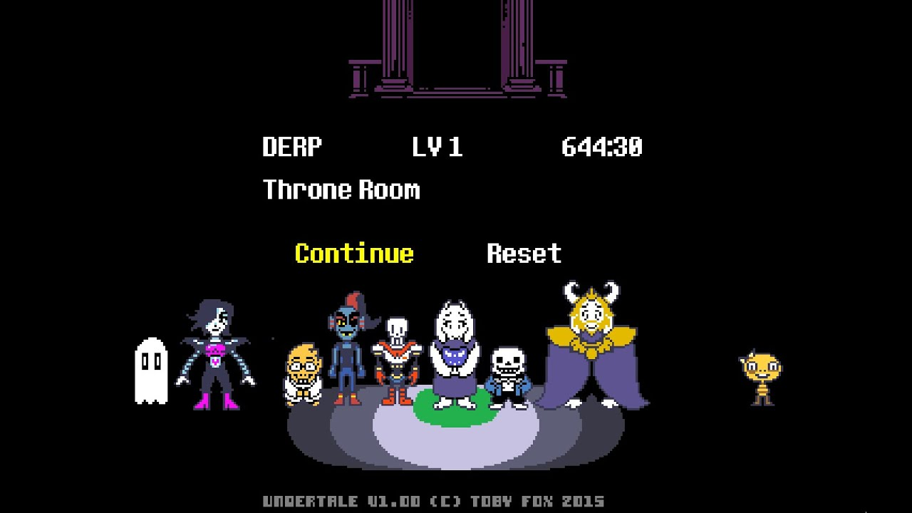 Undertale Secrets