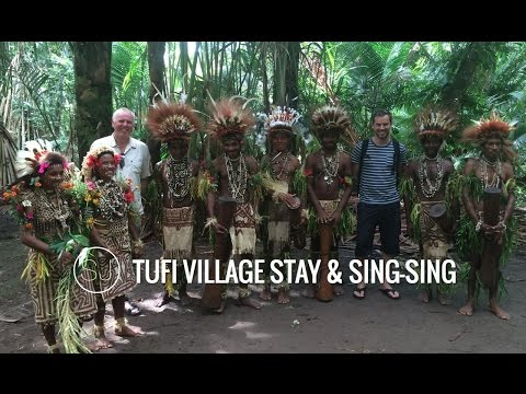 PAPUA NEW GUINEA VILLAGE LIFE - A STAY IN TUFI
