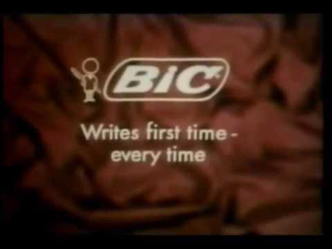 BIC Pens  Commercial 1969