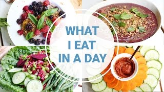What I eat In a Day | VEGAN MEALS SWAP w/Jenny Mustard