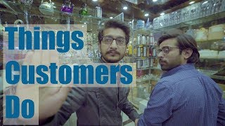 Annoying Things Customers Do   Funny Video by Maansals