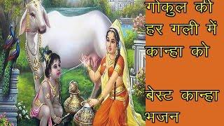 गोकुल की हर गली में मथुरा की हर गली में //बेस्ट कान्हा भजन //bhajan sandhya//
