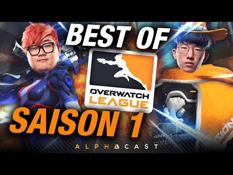 LE VERY BEST OF ► SAISON 1 DE L'OVERWATCH LEAGUE thumbnail