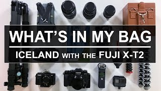 What's in my bag   Travelling to Iceland with the Fuji X-T2