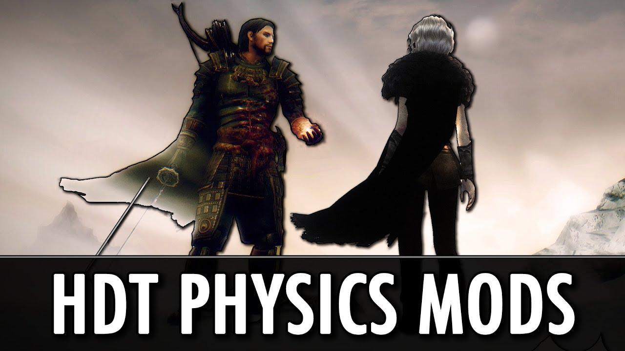 Download Skyrim Mods: HDT Physics - Cloaks, Gear, Hair, Tentacles