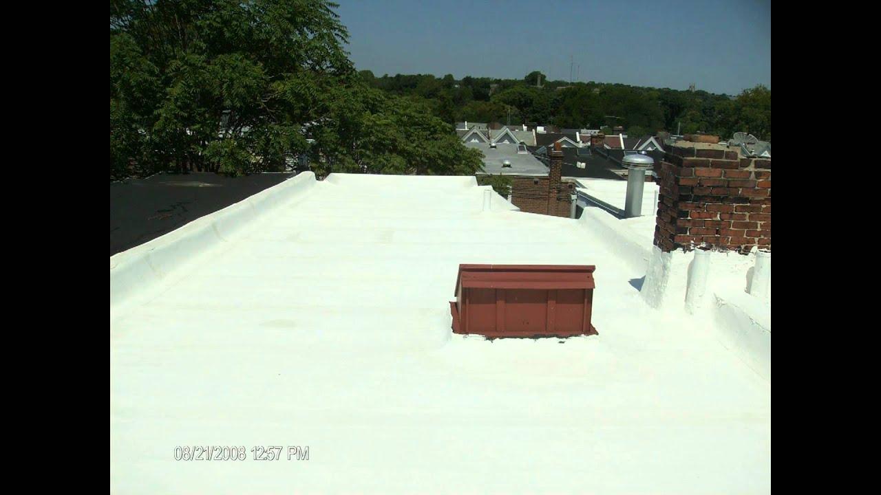 White Rubber Roofing Slideshow