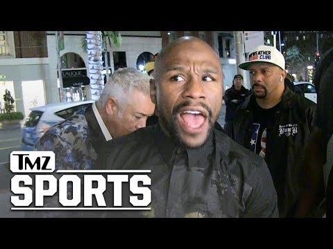 Floyd Mayweather Gives Khabib Ultimatum: Box Me, Or We Ain't Fightin' | TMZ Sports