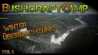 Bushcraft Camp #5 - Winter Übernachtung / Sockentee - #Petersilienhexe Outdoor Adventures